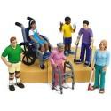Monitor de Centros de Discapacitados Psíquicos