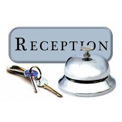 Recepcionista de Hotel y Alojamientos Turísticos.